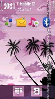 Bali Bali Kuta Beach Lite theme screenshot