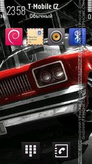 Retro Car 03 tema screenshot