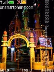 Capture d'écran Mosque House of Allah thème
