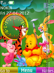 Winnie and Friends 01 theme screenshot