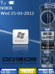 New Windows 7 01 theme screenshot