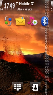Magma theme screenshot