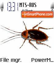 Animated Cockroach es el tema de pantalla
