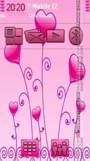 Valentine 2013 theme screenshot
