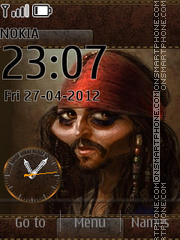 Johnny Depp 06 theme screenshot