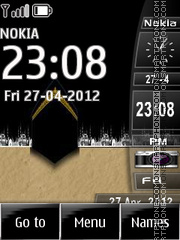 Islamic Slide Bar theme screenshot
