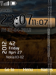 Live Nature tema screenshot