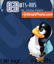 Tux And Bsd theme screenshot