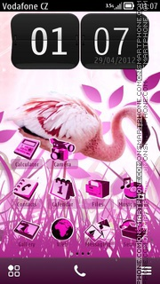 Flamingo 02 theme screenshot