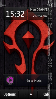 Tribal Sign tema screenshot