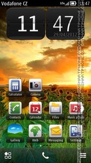 Capture d'écran Sunrise Hd thème