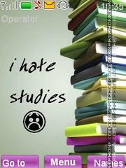 I hate studies theme screenshot