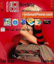 Скриншот темы Gwen Stefani