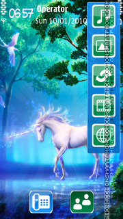 Unicorn theme screenshot