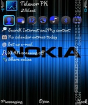 Nokia Khani theme screenshot