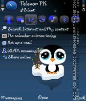 Baby Penguin theme screenshot