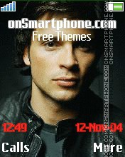 Tom Welling 1 theme screenshot