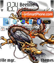 Dragon 04 theme screenshot