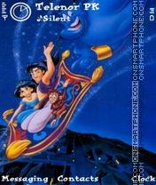 Aladdin theme screenshot