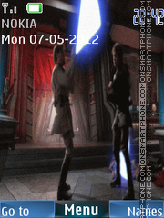 Star Wars Animated tema screenshot