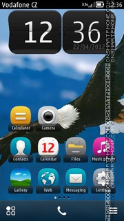 Steaming Eagle 01 theme screenshot