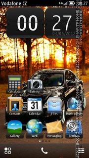 Скриншот темы Infiniti HD