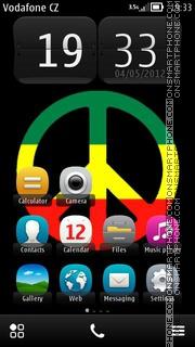 Peace 03 es el tema de pantalla