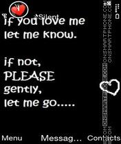 Loved Lie es el tema de pantalla