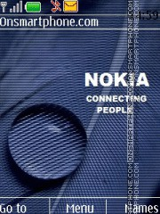 Nokia Blue 5801 theme screenshot