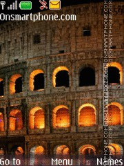 Roman Colosseum tema screenshot