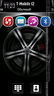 Wheel 04 theme screenshot