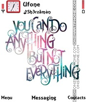 Do Anything es el tema de pantalla