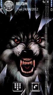 Wolf theme screenshot