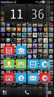 Mosaic Dark Anna es el tema de pantalla