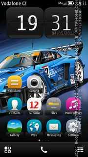 Nissan Gtr 16 theme screenshot