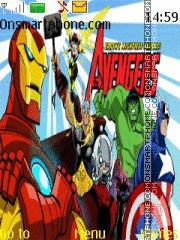 The Avengers theme screenshot