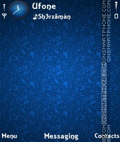 SB Blue tema screenshot