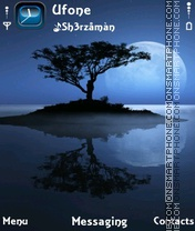 Скриншот темы Alone Night