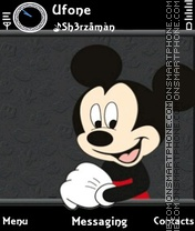 Mickey theme screenshot