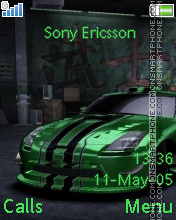 Nissan 350Z theme screenshot