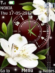 Lilies theme screenshot