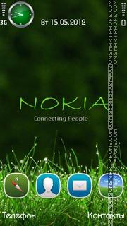 Скриншот темы Nokia Green