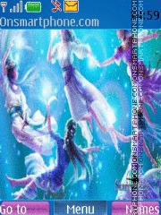 Aqua Dance theme screenshot