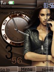 Nice Clock theme screenshot