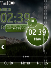 Smart Nature Live theme screenshot