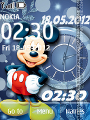 Mickey Mouse 19 theme screenshot