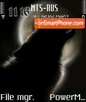 The Lonely Wolf v2 es el tema de pantalla