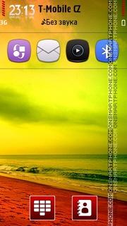 Colorful Nature theme screenshot