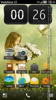 Daisy Girl theme screenshot