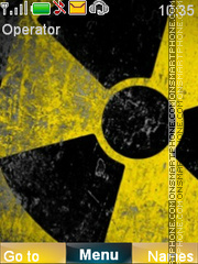 Radioactive theme screenshot
